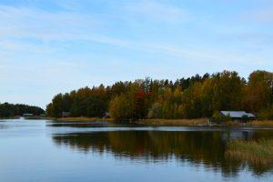 Finnische Küste Landschaft