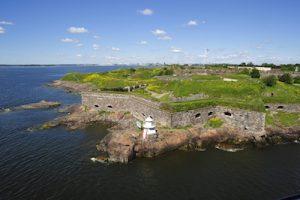 Suomenlinna Festung an der finnischen Küste