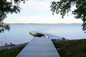 Åland Inseln vor der finnischen Küste